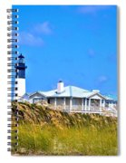 Tybee Lighthouse Spiral Notebook