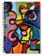 Uncertainty Principle Spiral Notebook