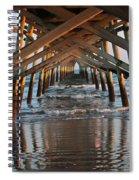Under The Pier II Spiral Notebook