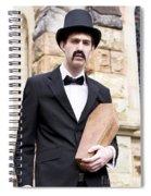 Undertaker Undertaking A Coffin Spiral Notebook