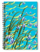 Underwater Life Spiral Notebook