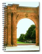 Union Station Arch Spiral Notebook