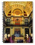 Union Station Lobby Large Size Spiral Notebook