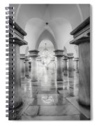 United States Capitol Crypt Spiral Notebook