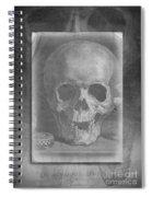 Untitled Skull Spiral Notebook