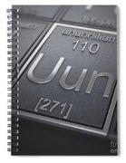 Ununnilium Chemical Element Spiral Notebook