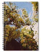 Up Into Wisteria Spiral Notebook
