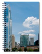 Uptown Charlotte North Carolina Cityscape Spiral Notebook