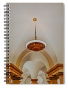 Us Capitol Crypt Spiral Notebook