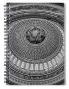 Us Capitol Rotunda Spiral Notebook