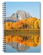 Usa, Grand Teton National Park Wyoming Spiral Notebook