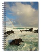 Usa, Hawaii, Rainbow Offshore Spiral Notebook