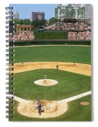 Usa, Illinois, Chicago, Cubs, Baseball Spiral Notebook