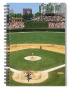 Usa, Illinois, Chicago, Cubs, Baseball Spiral Notebook