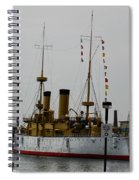 Uss Olympia Spiral Notebook