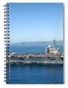 Uss Ronald Reagan Spiral Notebook