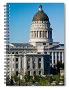 Utah State Capitol Building, Salt Lake Spiral Notebook