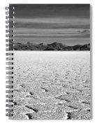 Uyuni Salt Falt Pattern Spiral Notebook