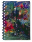 Valley Of The Waterfalls Spiral Notebook