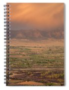 Valley Sunset Spiral Notebook