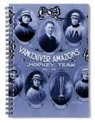 Vancouver Amazons Women's Hockey Team 1921 Spiral Notebook