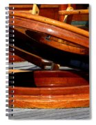 Vancouver Bc Classic Boats Spiral Notebook