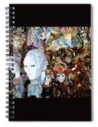 Venetian Masks 2 Spiral Notebook