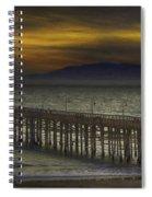 Ventura Pier Spiral Notebook