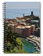 Vernazza - Cinque Terre Spiral Notebook