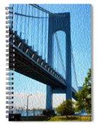 Verrazano Bridge Spiral Notebook