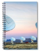 Very Large Array Of Radio Telescopes  Spiral Notebook