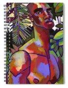 African Forest Spiral Notebook