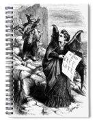 Victoria Claflin Woodhull (1838-1927) Spiral Notebook