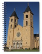 Victoria Kansas - Cathedral Of The Plains Spiral Notebook