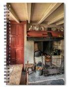 Victorian Cottage Spiral Notebook