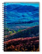 View From Table Rock Mountain Spiral Notebook