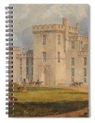 View Of Hampton Court Spiral Notebook