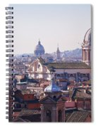 View Of Rome 2013 Spiral Notebook