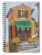 Village In Provence Spiral Notebook