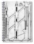 Villard De Honnecourt (c1225-1250) Spiral Notebook
