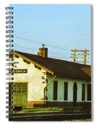Villisca Train Depot Spiral Notebook