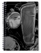 Vintage Spiral Notebook