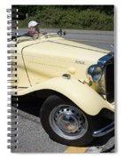 Vintage Mg Spiral Notebook