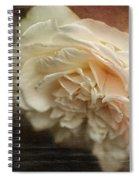 Vintage Tea Rose Spiral Notebook