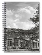 Virginia City Montana Ghost Town Spiral Notebook