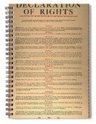 Virginia Constitution, 1776 Spiral Notebook