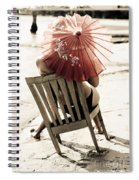 Vision Of A Simple Life Spiral Notebook