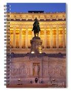 Vittorio Emanuele - Rome Spiral Notebook