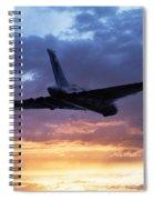 Vulcan Sunset Spiral Notebook