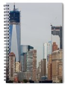 1 W T C And Lower Manhattan Spiral Notebook